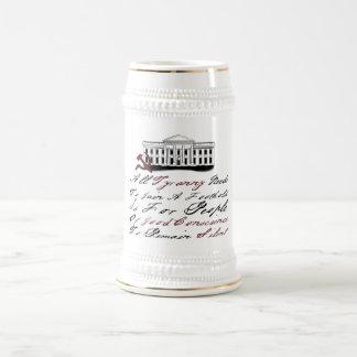 Thomas Jefferson - Tyranny Beer Stein