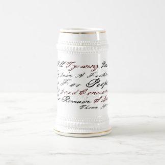 Thomas Jefferson - Tyranny Coffee Mugs