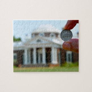Thomas Jefferson's Monticello Jigsaw Puzzle