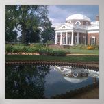 Thomas Jefferson's Monticello Poster