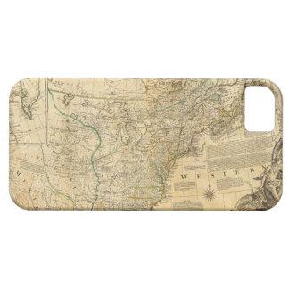 Thomas Jefferys' 1776 American Atlas Map iPhone 5 Covers