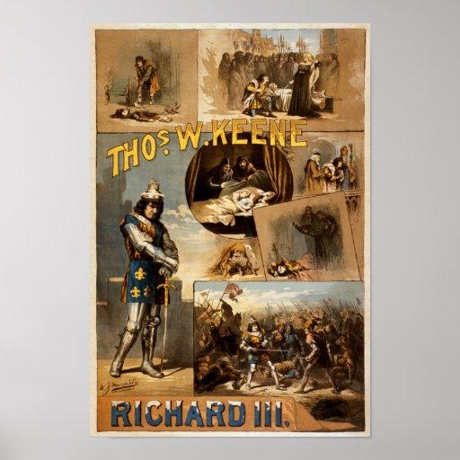 Thomas Keene en Richard III Impresiones