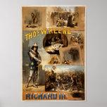 Thomas Keene in Richard III Posters