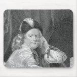 Thomas Killigrew, grabado por J.J Van den Bergh Alfombrillas De Ratón