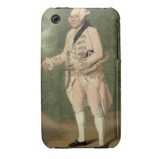 Thomas King as Lord Ogleby (oil on canvas) Case-Mate iPhone 3 Case