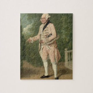 Thomas King as Lord Ogleby (oil on canvas) Jigsaw Puzzle