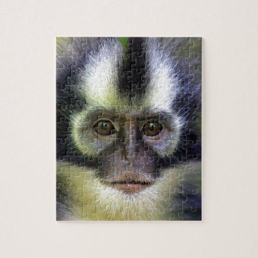 Thomas leaf monkey Sumatra Jigsaw Puzzle
