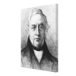 Thomas Love Peacock Canvas Print