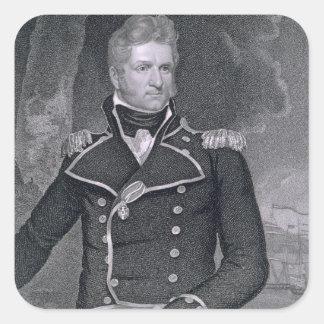 Thomas Macdonough (1783-1825) grabado por Juan B. Colcomanias Cuadradass