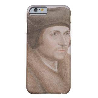 Thomas más, Lord Canciller (1478-1535) grabado Funda De iPhone 6 Barely There