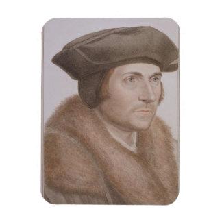 Thomas más, Lord Canciller (1478-1535) grabado Imanes Rectangulares