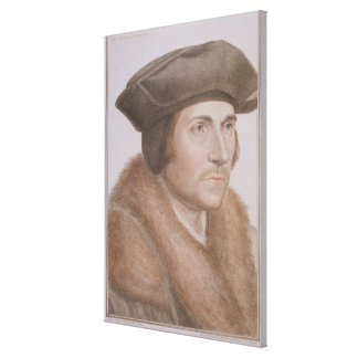 Thomas más, Lord Canciller (1478-1535) grabado Impresiones En Lienzo Estiradas