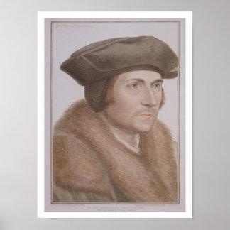 Thomas más, Lord Canciller (1478-1535) grabado Impresiones