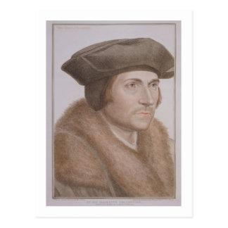 Thomas más, Lord Canciller (1478-1535) grabado Postales