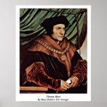 Thomas más por Hans Holbein el más joven Impresiones