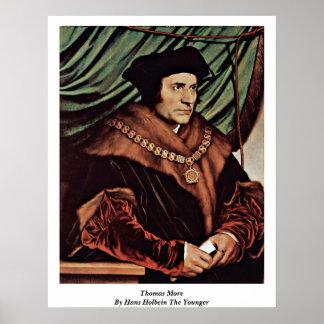 Thomas más por Hans Holbein el más joven Póster