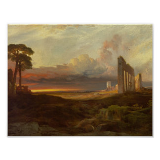 Thomas Moran, 1837–1926 Opus 24, Rome, from the Ca Poster