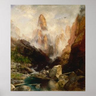Thomas Moran - Mist in Kanab Canyon, Utah Posters