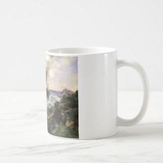 Thomas Moran - Point Lobos, Monterey, California Coffee Mug