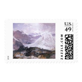 Thomas Moran - The Mosquito Trail Postage Stamp