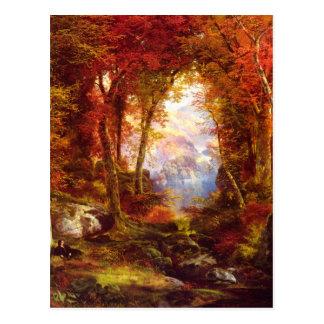 Thomas Moran - Under the Trees Postcard