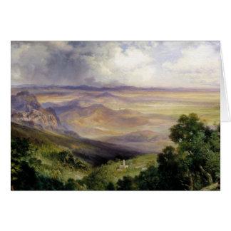 Thomas Moran - Valley of Cuernavaca Card