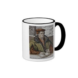 Thomas Muntzer, c.1600 Ringer Coffee Mug