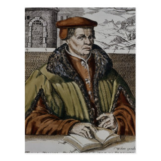 Thomas Muntzer, c.1600 Postcard