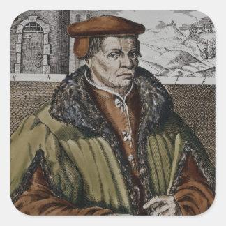 Thomas Muntzer c 1600 Square Sticker