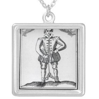 Thomas Nashe, de un folleto, pub. en 1597 Colgante Cuadrado