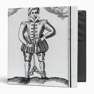 Thomas Nashe , from a pamphlet, pub. in 1597 3 Ring Binder