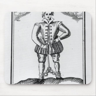 Thomas Nashe , from a pamphlet, pub. in 1597 Mouse Pad