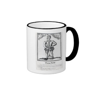 Thomas Nashe , from a pamphlet, pub. in 1597 Coffee Mug
