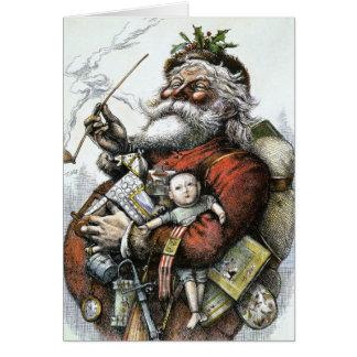 Thomas Nast Santa Claus Greeting Cards