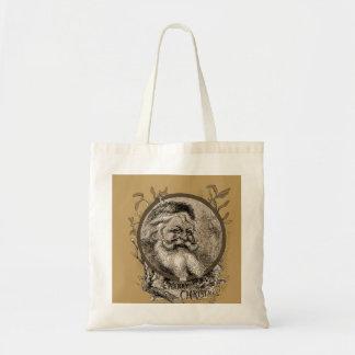 Thomas Nast Santa Claus Christmas tote Canvas Bag
