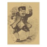 Thomas Nast's Early St. Nick Drawing Card Postcard