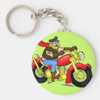 Thomas on the way basic round button keychain