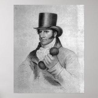 Thomas Owen, grabado por Hopwood Posters