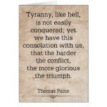 Thomas Paine #1 Greeting Card