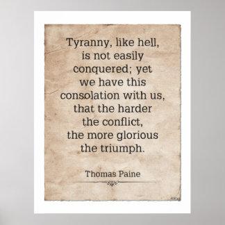 Thomas Paine #1 Poster