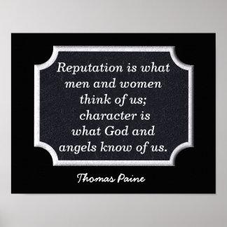 Thomas Paine - art print - quote