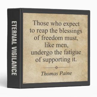 """Thomas Paine Carpeta 1 1/2"""""""