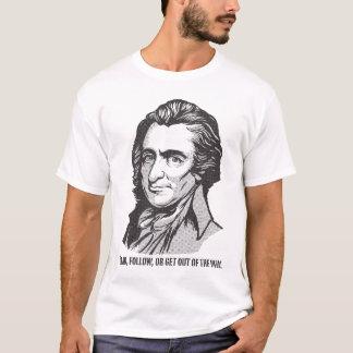 Thomas Paine Dot Matrix Quote T-Shirt