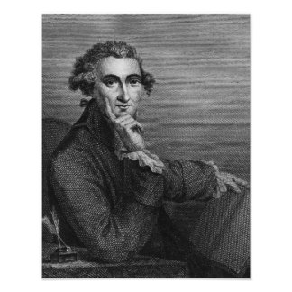 Thomas Paine, engraved by William Angus, 1791 Poster