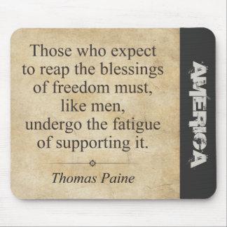 Thomas Paine Mousepads