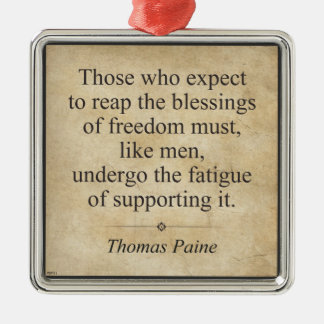 Thomas Paine Ornament
