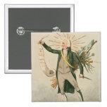 Thomas Paine Political Cartoon Pin