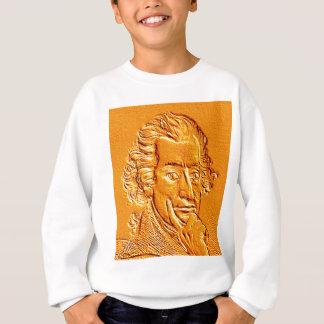 Thomas Paine portrait in gold Sweatshirt