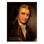 Thomas Paine - Postcard