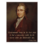 Thomas Paine Poster